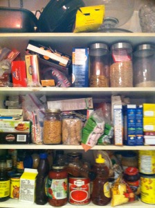 OCD Cupboard vs. Normal Guy Cupboard