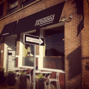 {Guest Blog} Pressed Urban Gourmet Sandwich Bar: soooo not a hipster fortress. But hip? Sure.