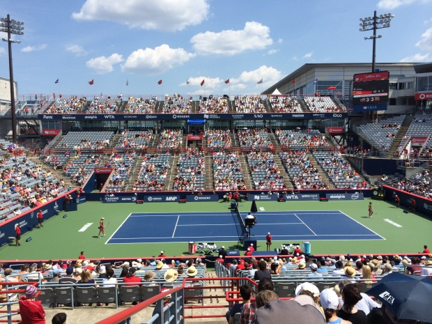 Court Central Rogers Cup Montreal 2014