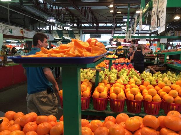 Jean Talon Market Montreal oranges