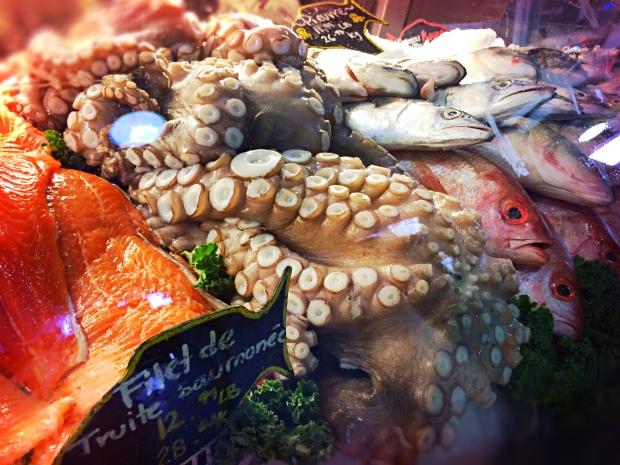 Jean Talon Market Montreal fish
