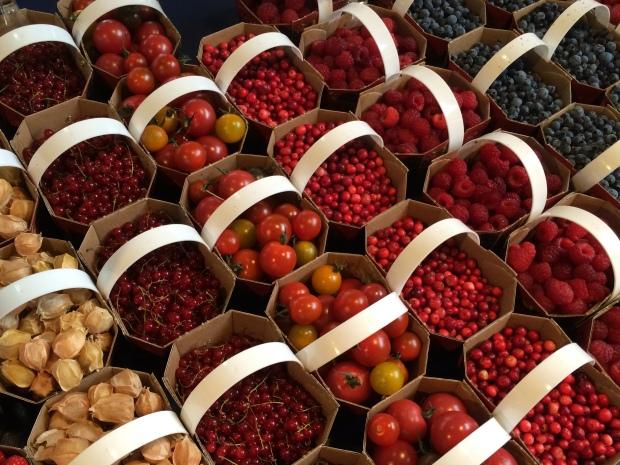 Jean Talon Market Montreal berries