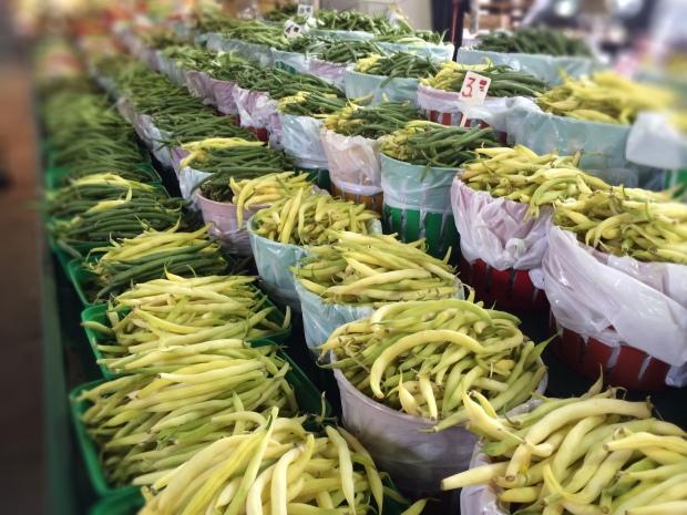 Jean Talon Market Montreal beans