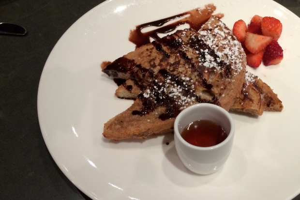 Moroco Chocolat, Cannoli stuffed French toast