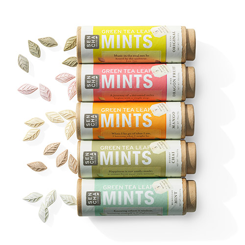 Green Tea Leaf Mints
