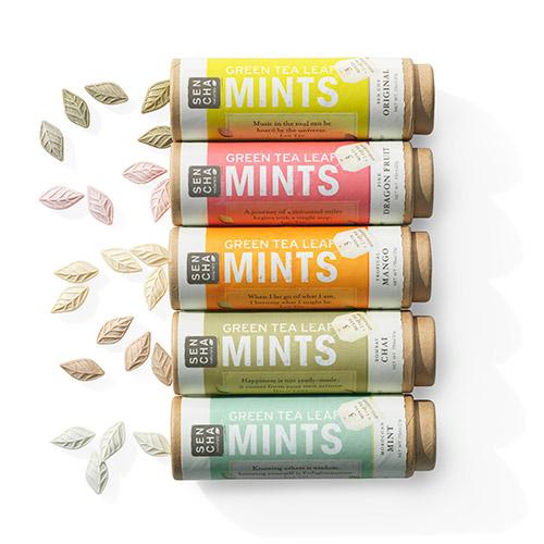 Green Tea Leaf Mints