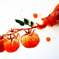 Food Art: Italian Artist Giulia Bernardelli