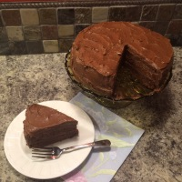 FAMILY RECIPES: Etelka's Cocoa Chiffon Cake