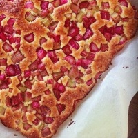 Family Recipe: Grandma's Rhubarb Cake